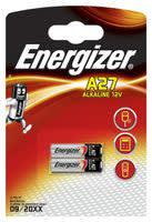 Energizer A27 Speciale batterij 27A Alkaline 12 V 22 mAh 2 stuk(s)