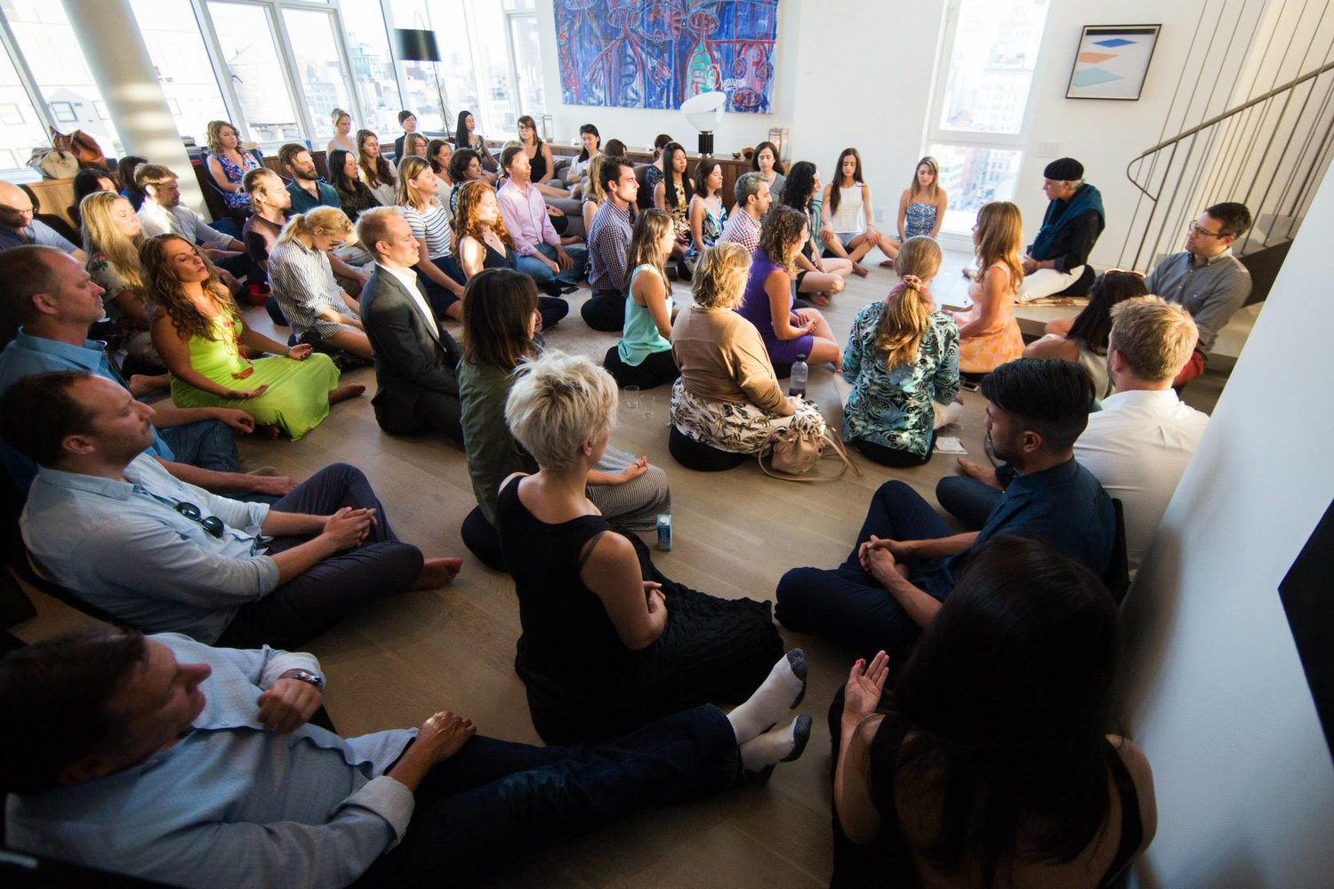 the path mela meditation month mindfulness retreat cross campus member company coworking santa monica silicon beach female startup