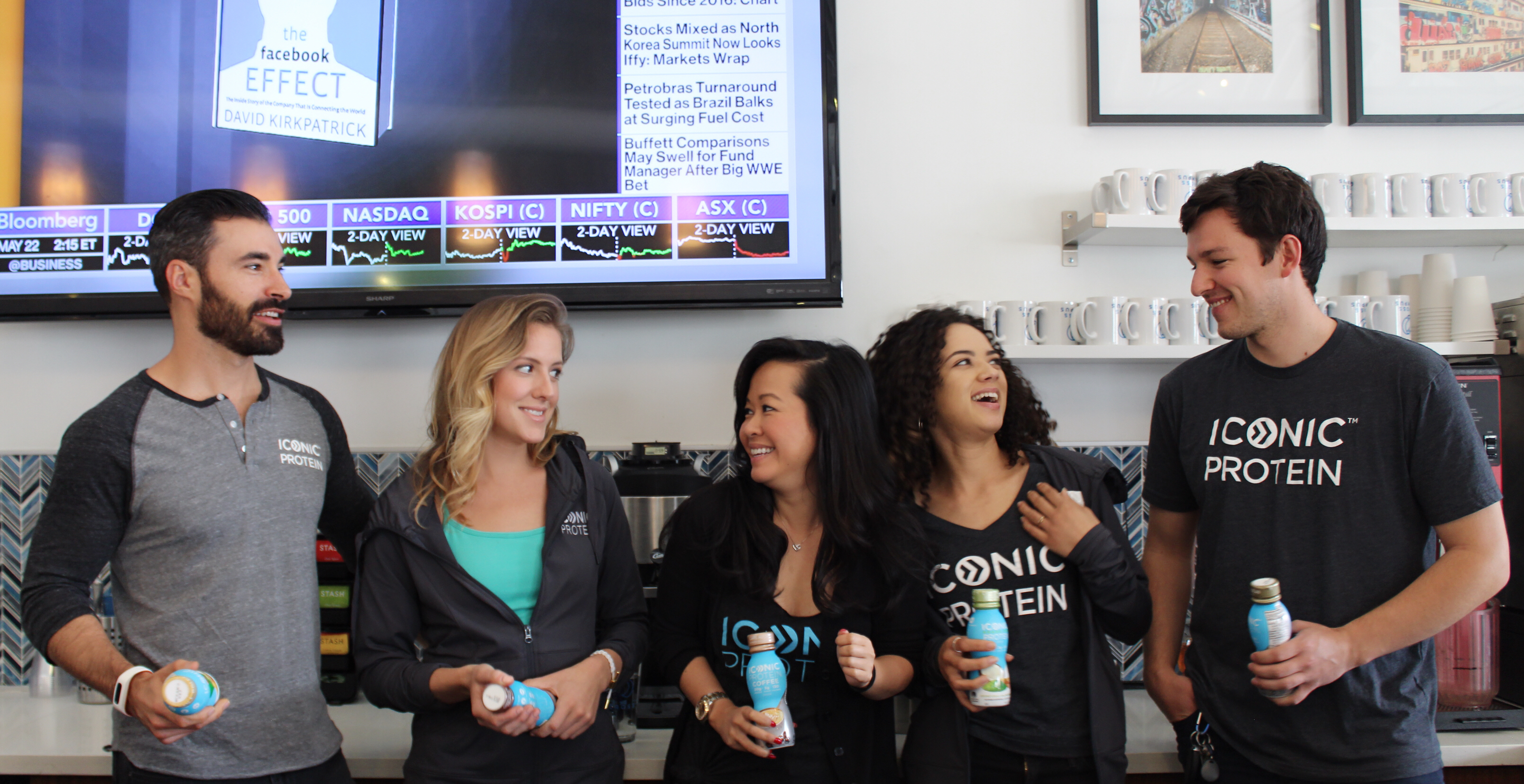 iconic protein cross campus santa monica coworking space office space member spotlight company protein drink health wellness fitness billy bosch