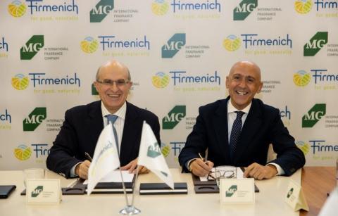 芬美意与MG国际香水公司(MG International Fragrance Company)和Gülçiçek家族达成合作