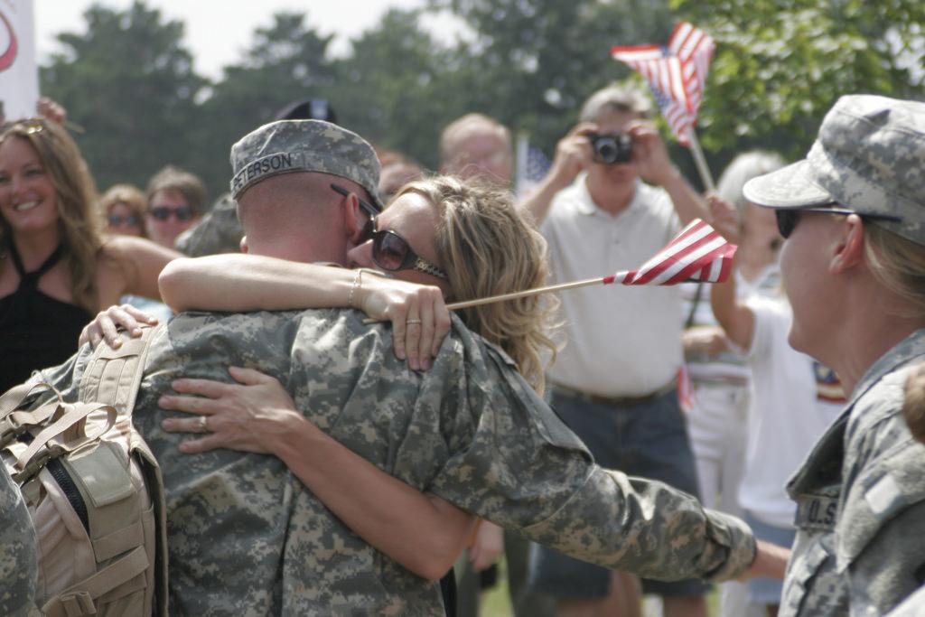 welcoming veterans home