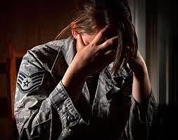 suffering soldier