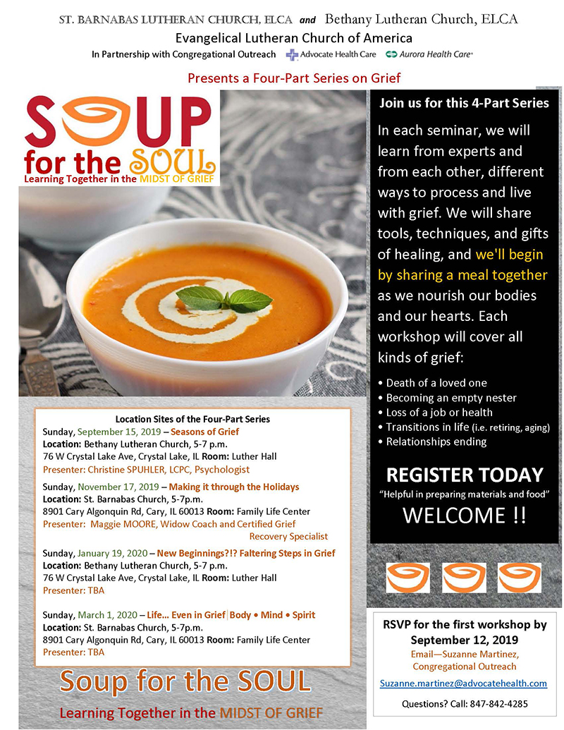 Soup for the soul bb ey6dry