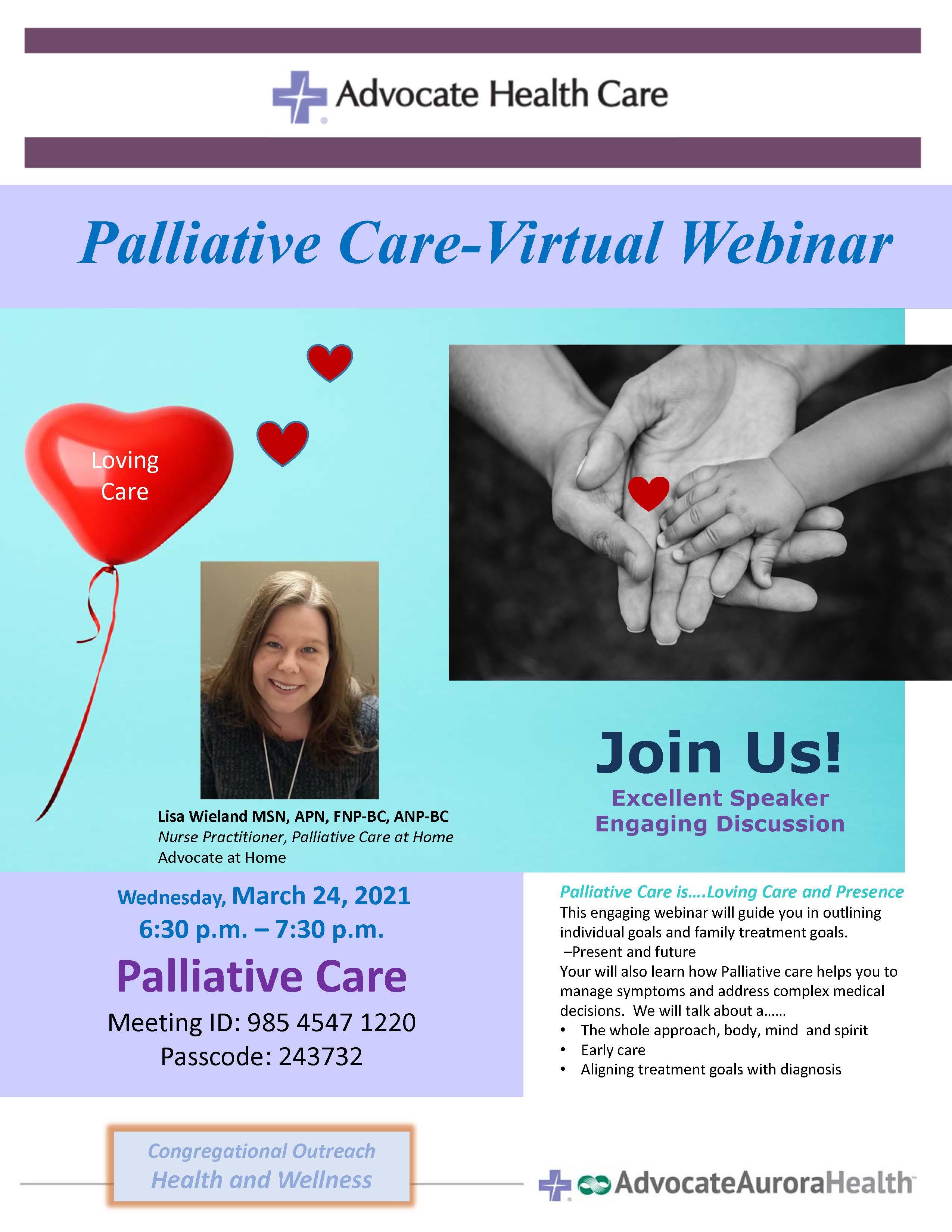 March 24 palliative care dysdlp