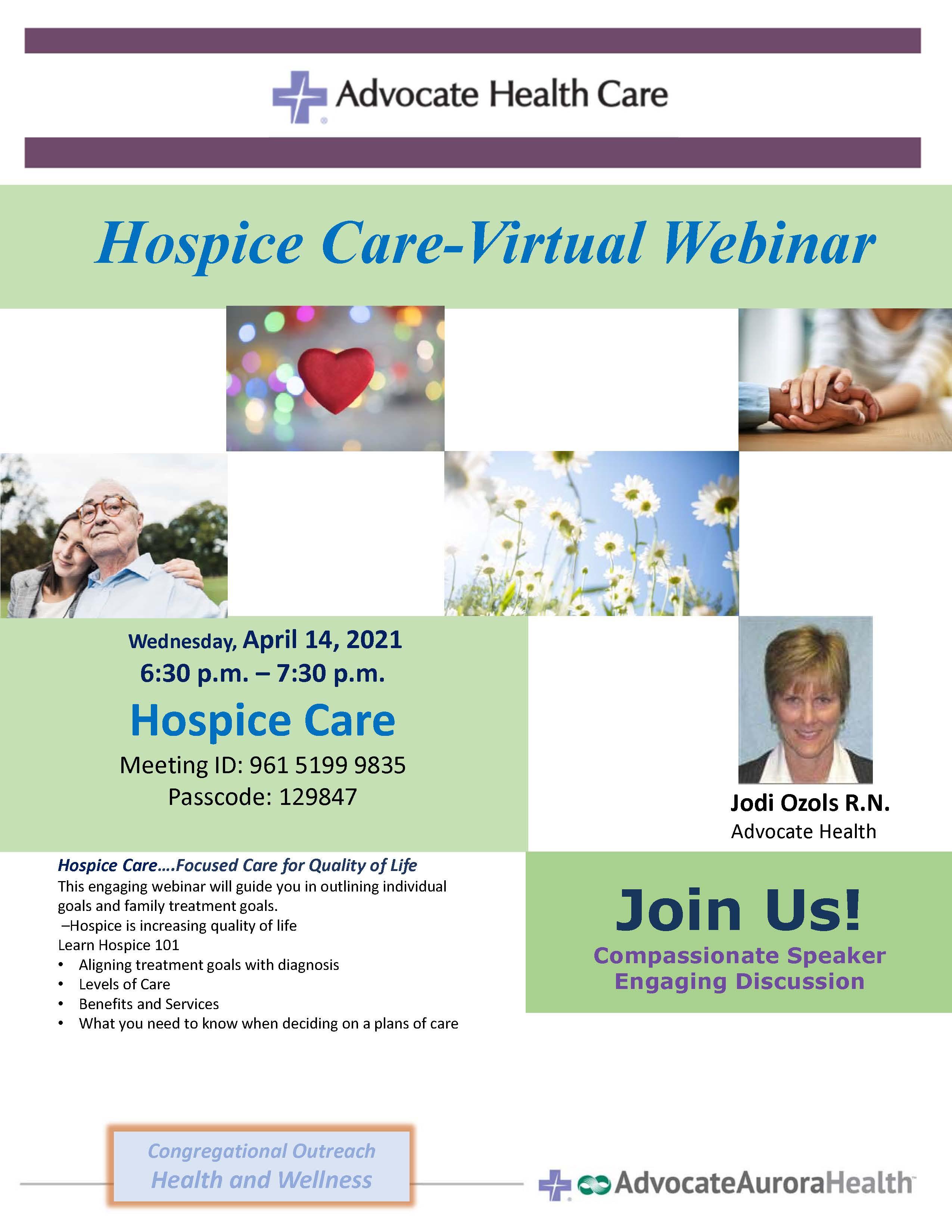 April 14 hospice care qephlx