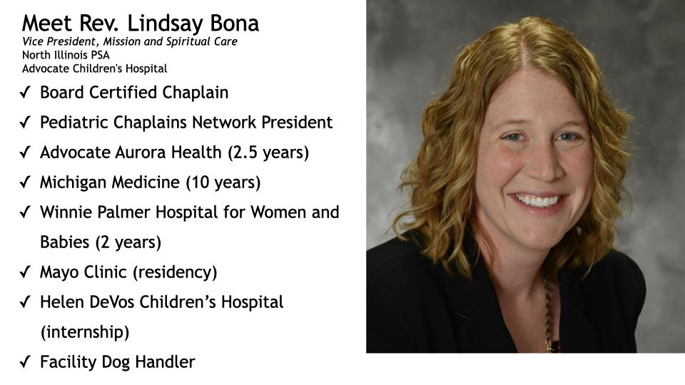 Rev Lindsay Bona