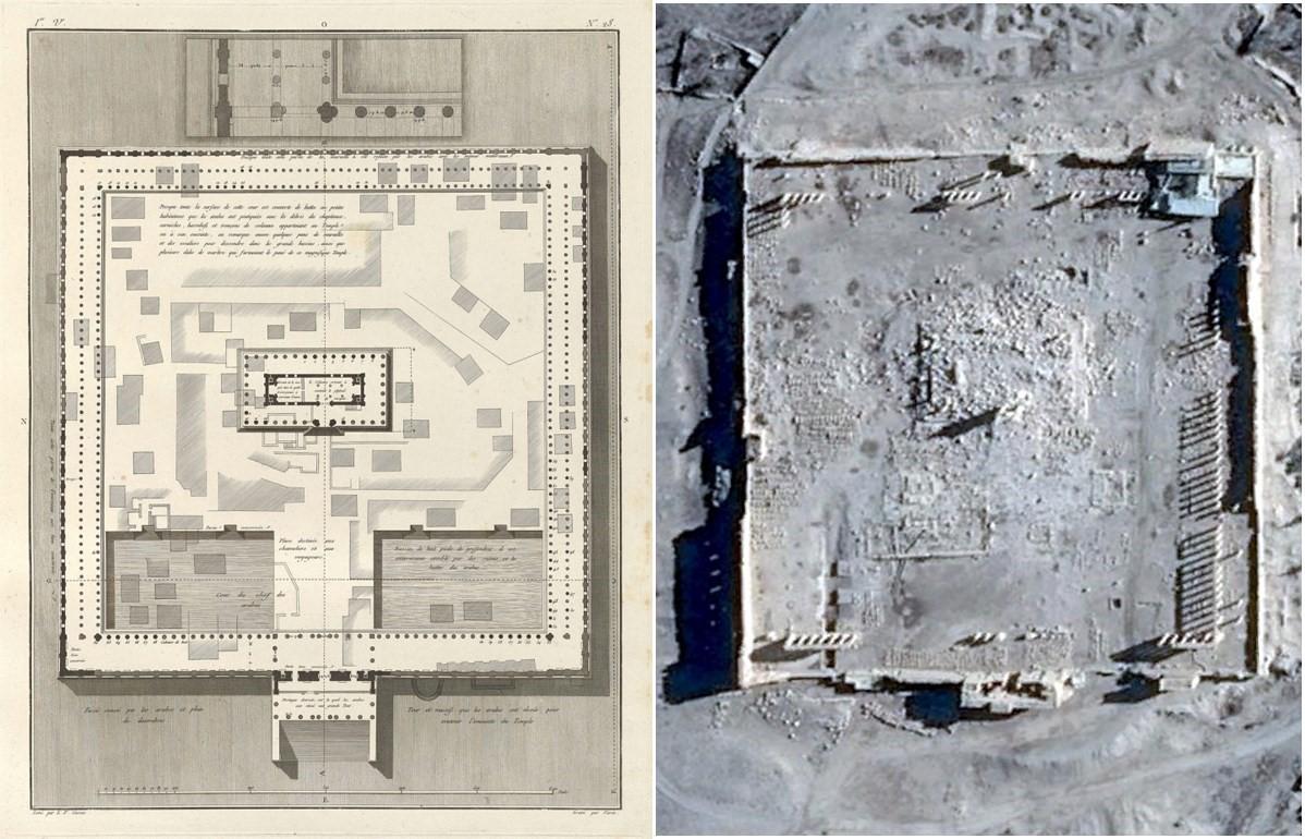 Baaltempel, Palmyra