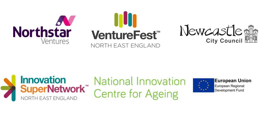 Logos for Venture Fest workshop