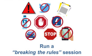 Image thumbnail for challenge entitled Break the Rules : August 30 Day Challenge