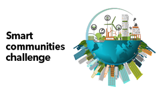 Image thumbnail for challenge entitled Smart Communities Challenge - Closed