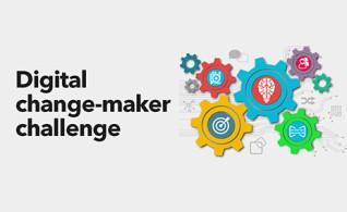 Image thumbnail for challenge entitled Digital change-maker challenge