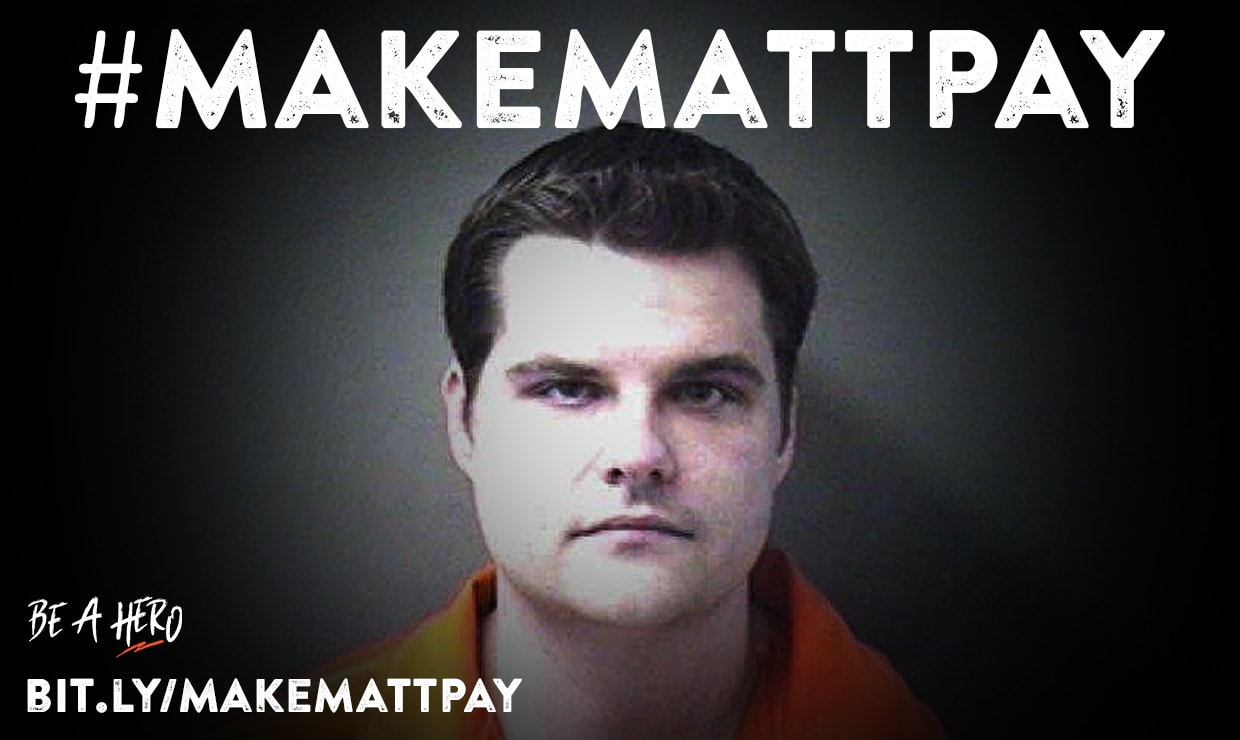 Make Matt Gaetz pay for silencing Parkland parents. Donate to his opponent.