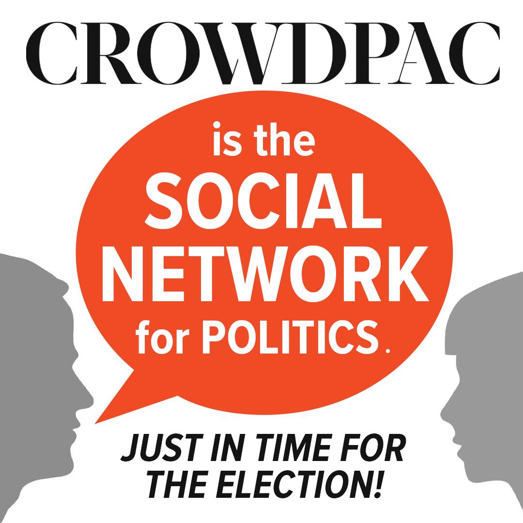 Crowdpac Social Network of Politics