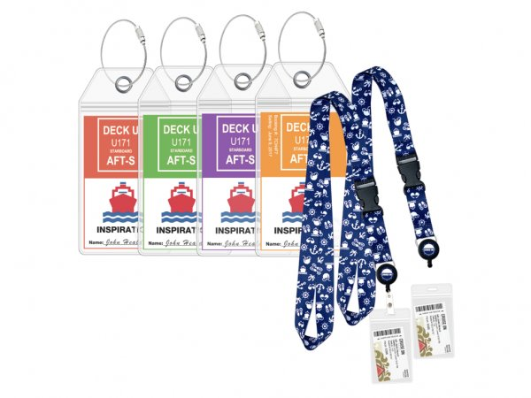 Cruise Lanyards with Luggage Tags