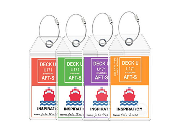 Luggage Tags - Carnival
