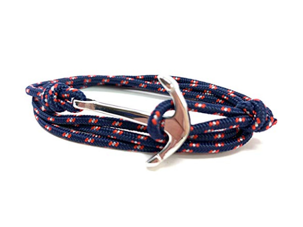 Anchor Bracelet - Paracord Navy