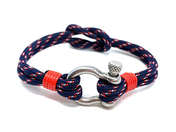 Anchor Bracelet - Shackle Blue