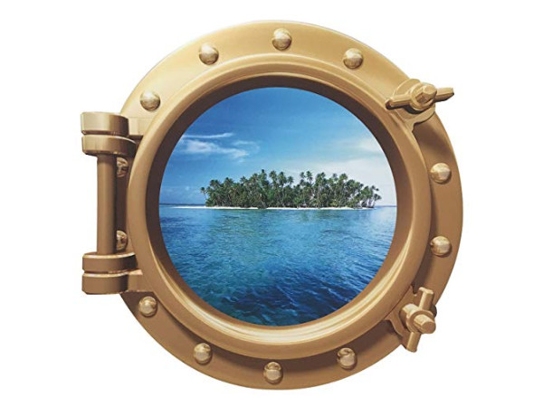 Porthole Sticker