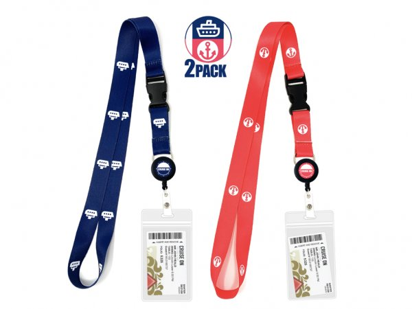 Cruise Lanyards - Retractable Reel