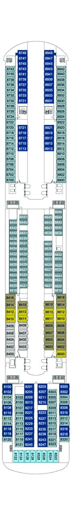 Color Line Cruises Kreuzfahrten, Bewertungen und Deckplan