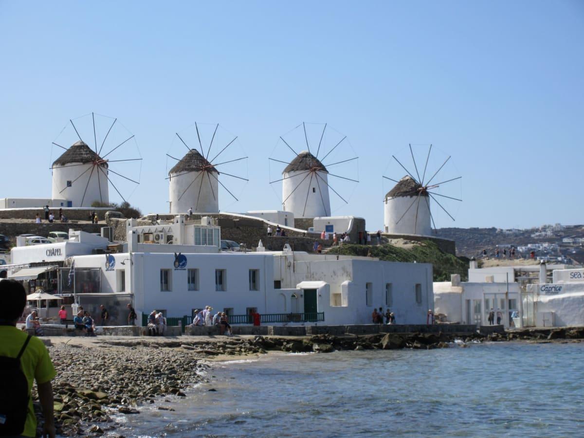ミコノス島カトミリの風車