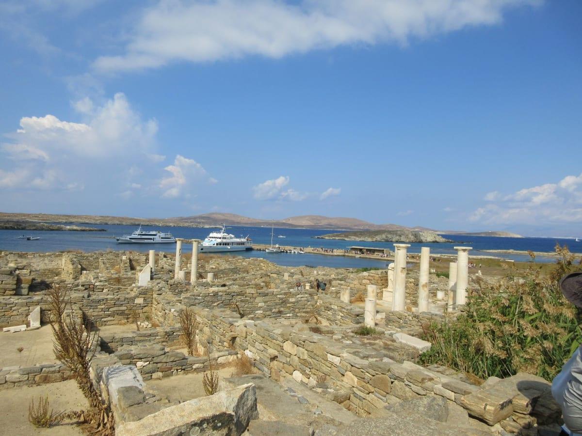 デュロス島の遺跡、世界遺産