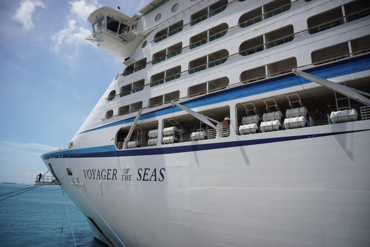 大型船に見慣れてしまったけれども、やっぱりボイジャークラスとなると大きく感じます。