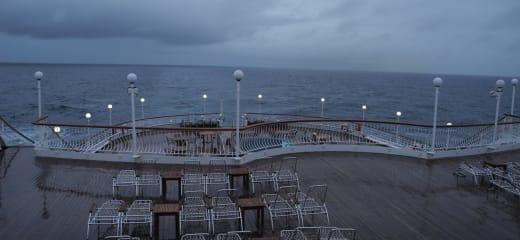 秋の欧州紀行 3  サガルビー、サウザンプトンを出港