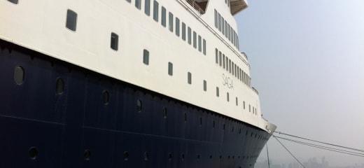 """サガルビーで過ごした""""夢のような船旅"""""""