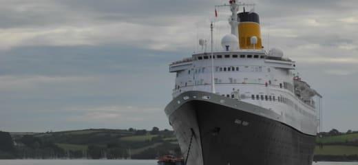 サガルビー、涼しい北ヨーロッパの船旅