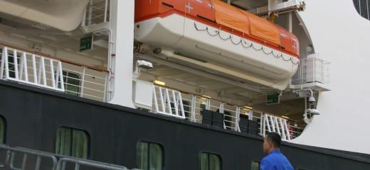 HALロッテルダム、アラスカへ。もう船は名前で乗る時代ではないのかも。