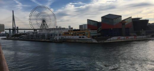 横浜発シンガポール行き乗船記(12月9日)
