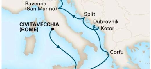 2019年GWクルーズ選び(4)HALフェーンダムのイタリア半島回遊