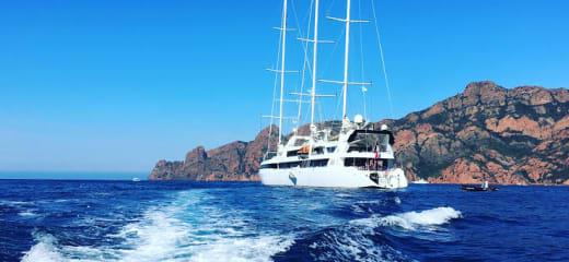 ダイビングを楽しもう - 2016年 Le Ponant (帆船)