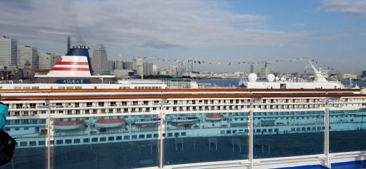 ダイヤモンドプリンセス秋の大航海乗船記2−横浜半日散歩