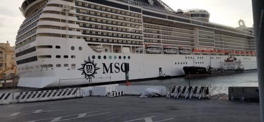 MSCスプレンディダ乗船記—総論どんな感じか?
