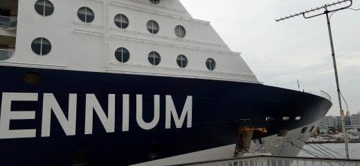 セレブリティミレニアム乗船記—寄港地やイベントで大忙し1
