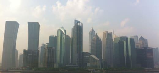 今朝の上海