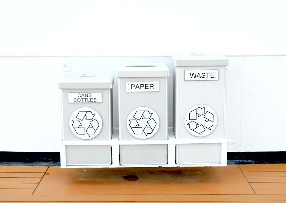 リサイクルはしっかりと