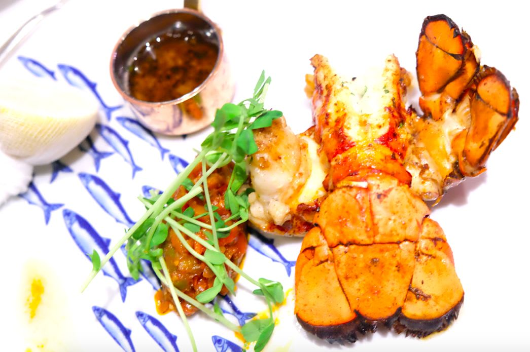 Broiled Maine Lobster(ロブスター)
