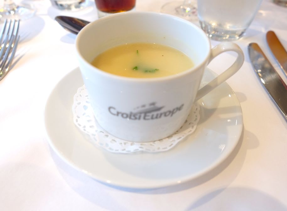 Dubarry cream(クリームスープ)