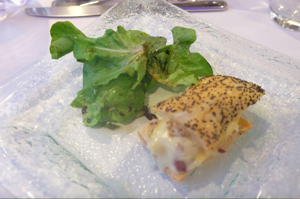fries and vegetables Grandma's reblochon pastry(ルブロションパイ)