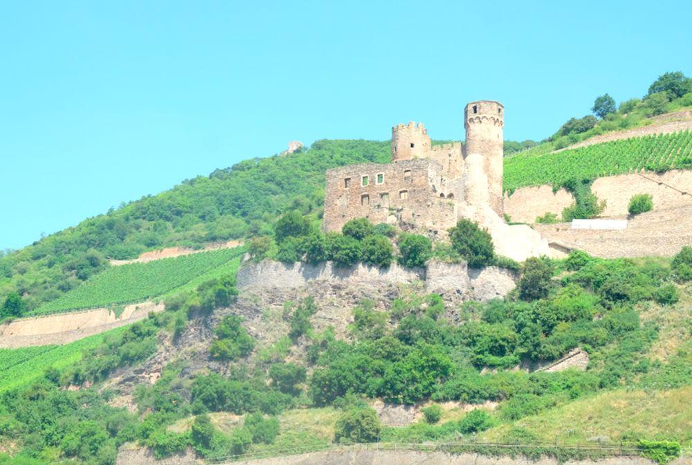 元々はどんなお城だったのかと想像するだけでもついつい夢中に