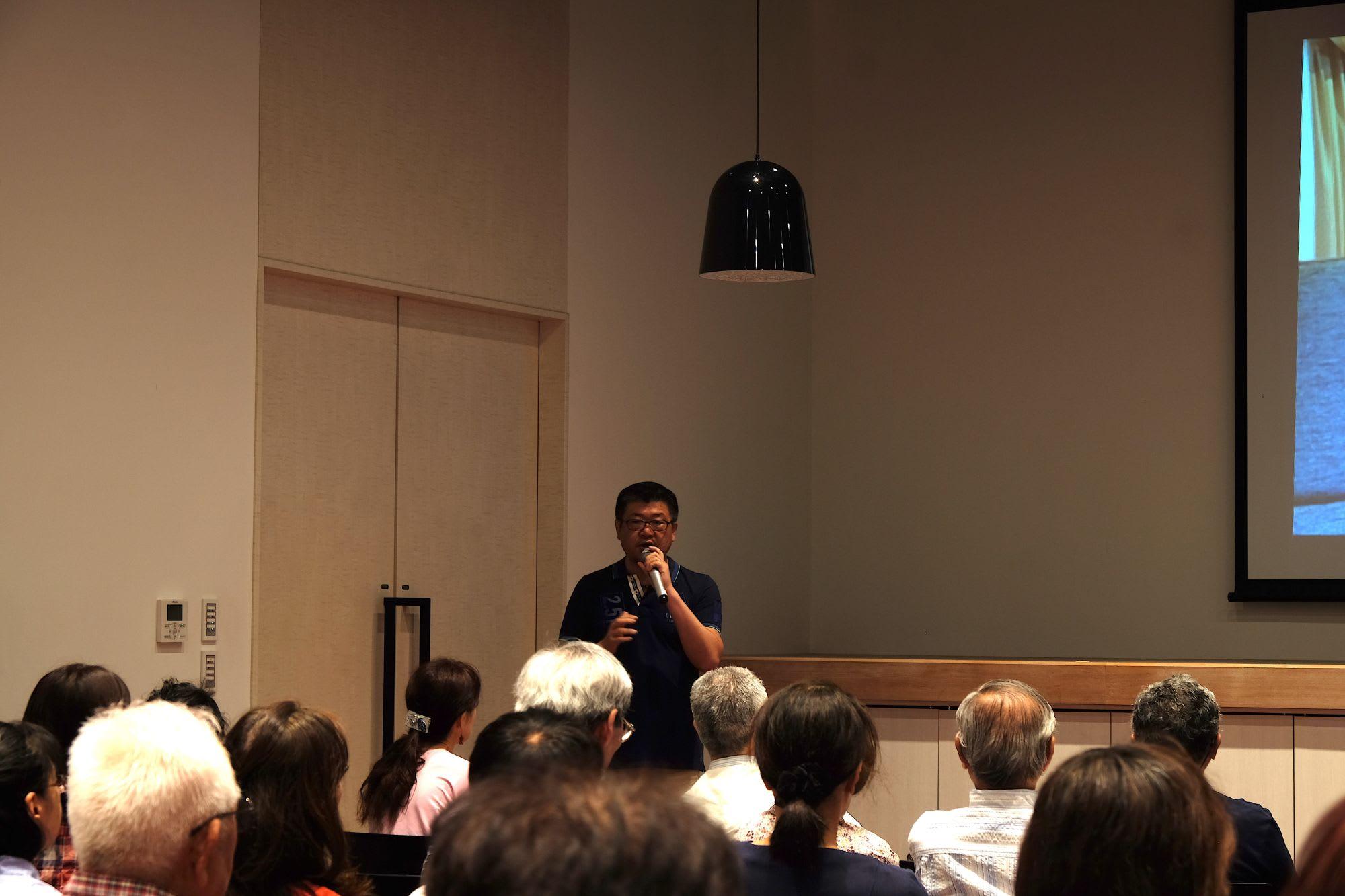 ホーランドアメリカ日本総代理店オーバーシーズトラベルの本郷芳人氏