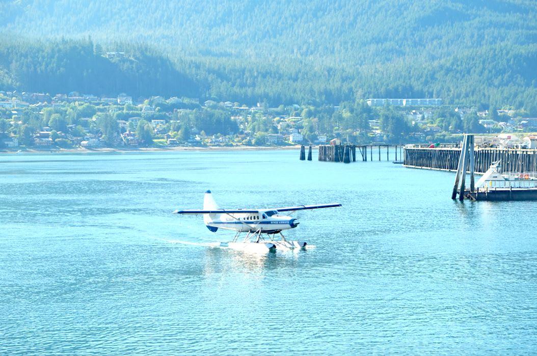 水上飛行機も有名です