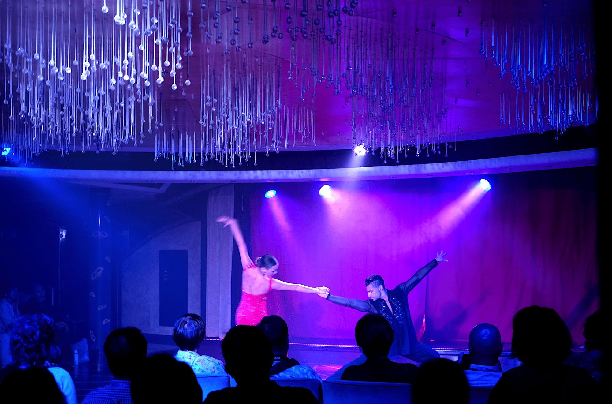 情熱がこもったプロダンサーのダンス・ショー