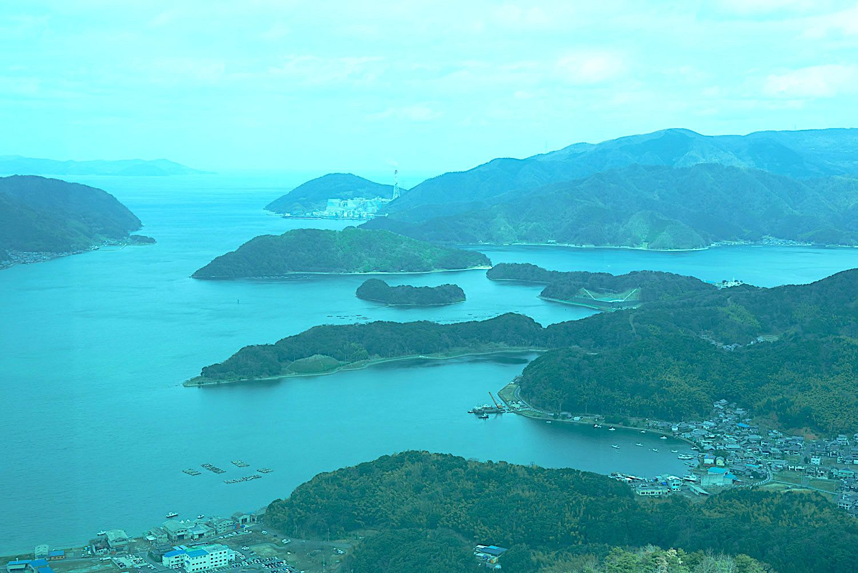 クルーズ愛好家達がうなる舞鶴湾はひょっとするとこのツアーの中で最大の見所かも