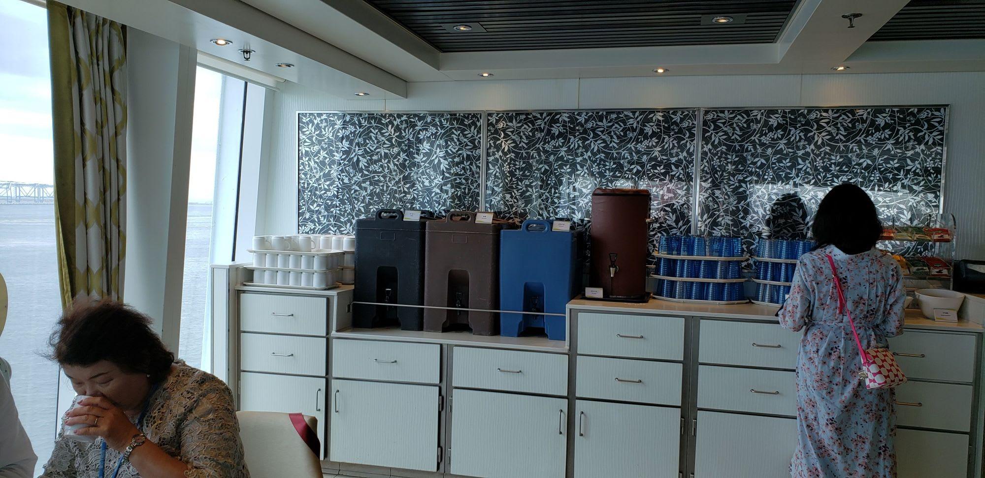 バフェのコーヒーコーナー