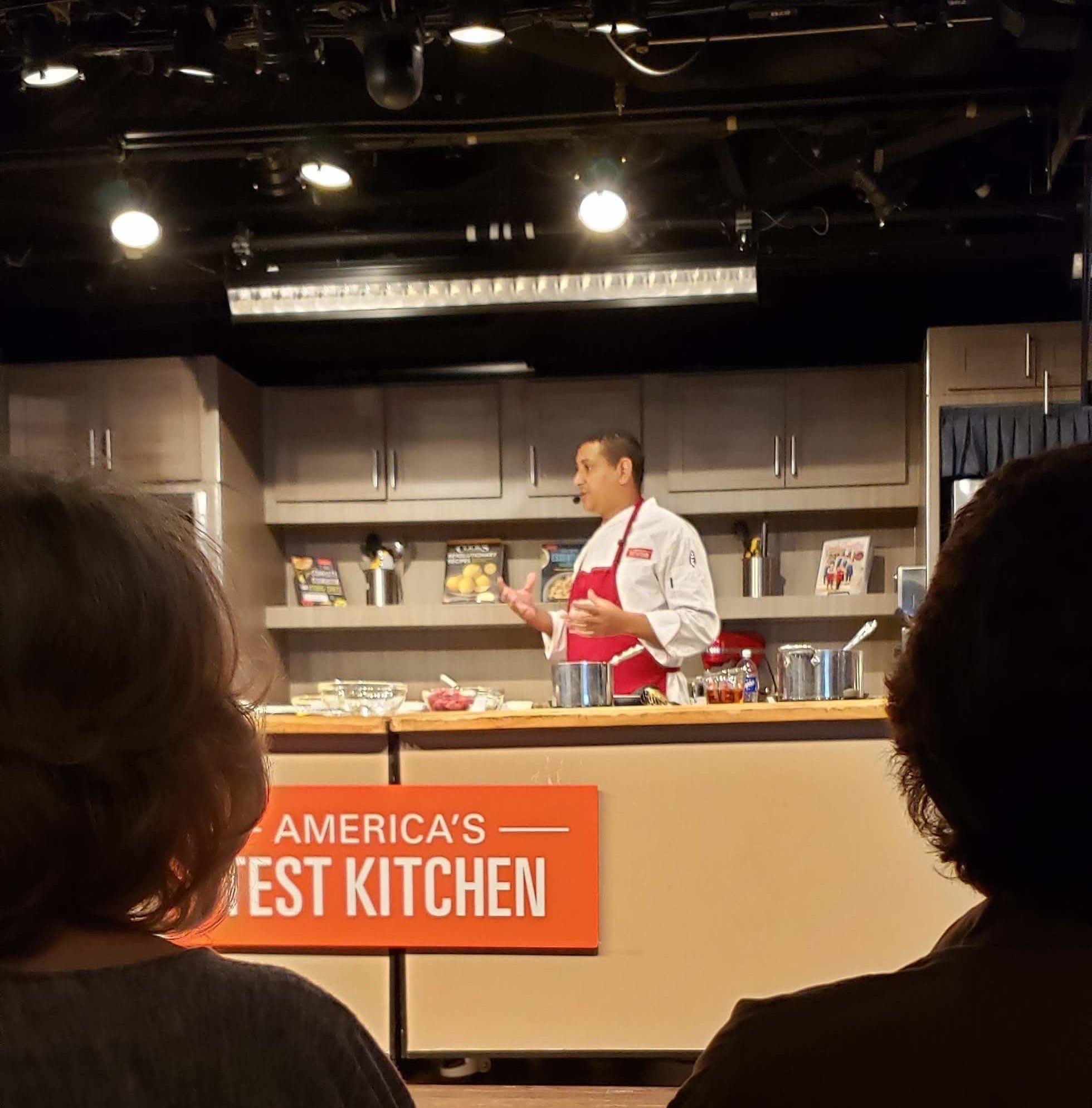 HALのお料理ショー:「America's Test Kitchen」