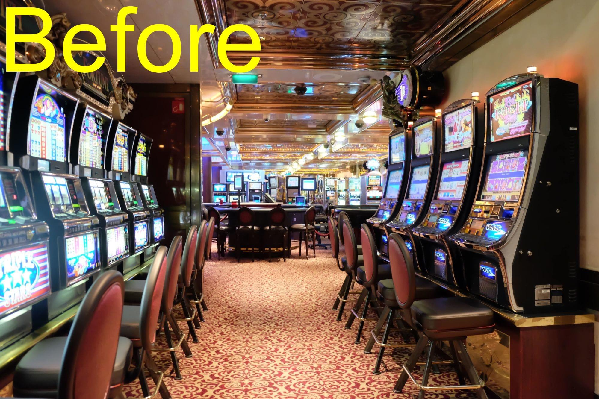 スロットマシーンで気軽にカジノ挑戦
